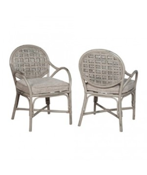 Thumbnail of Elk Group International/Combined - Pair of Farmhouse Rattan Arm Chair
