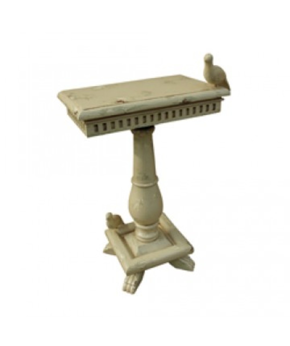 Elk Group International/Combined - Socle Table With Birds