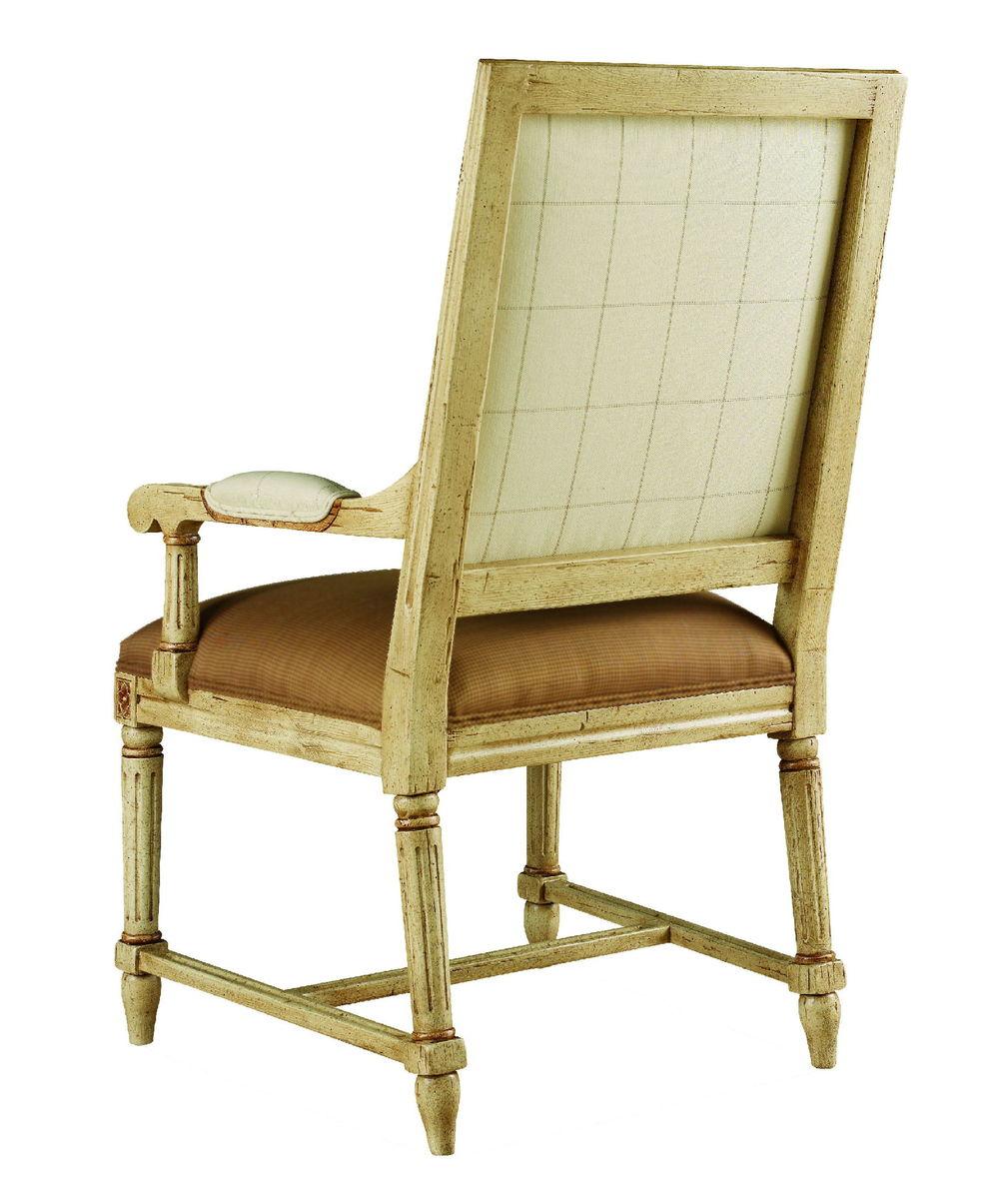 Chaddock - Durham Square High Back Arm Chair