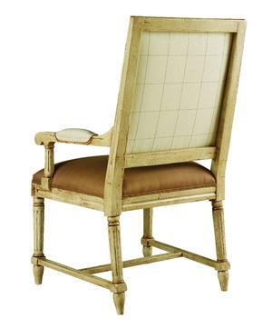 Thumbnail of Chaddock - Durham Square High Back Arm Chair