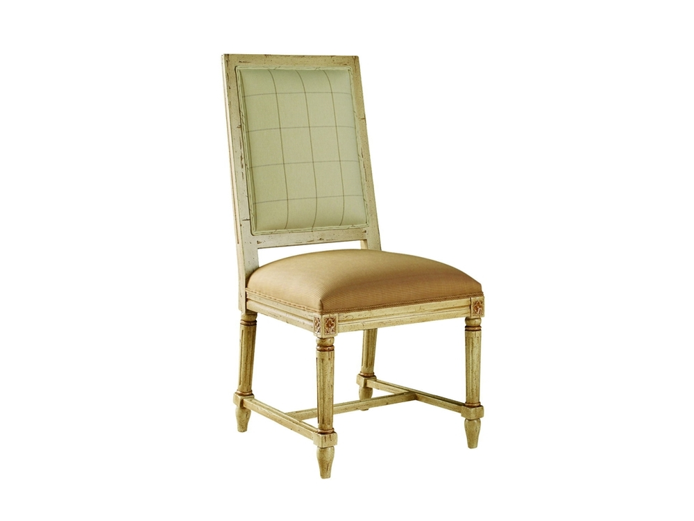 Chaddock - Durham Square High Back Side Chair