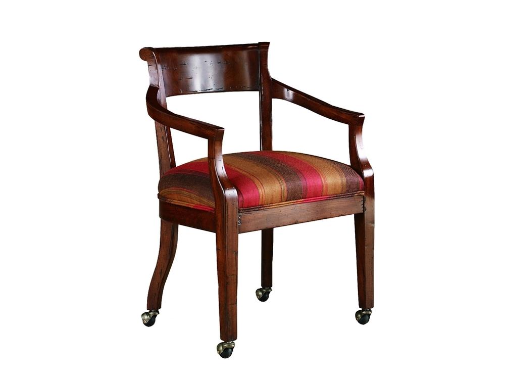 Chaddock - Hartford Arm Chair w/ Casters