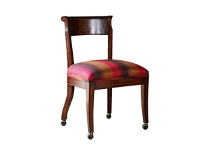 Thumbnail of Chaddock - Hartford Side Chair w/ Casters