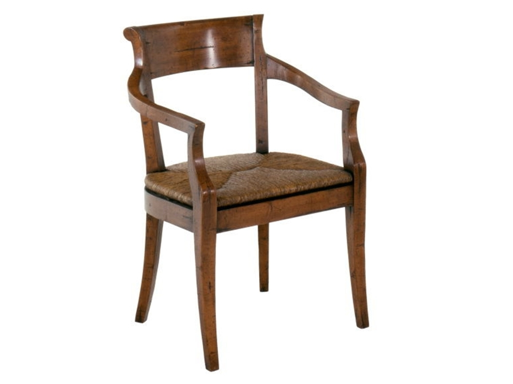 Chaddock - Hartford Rush Seat Arm Chair