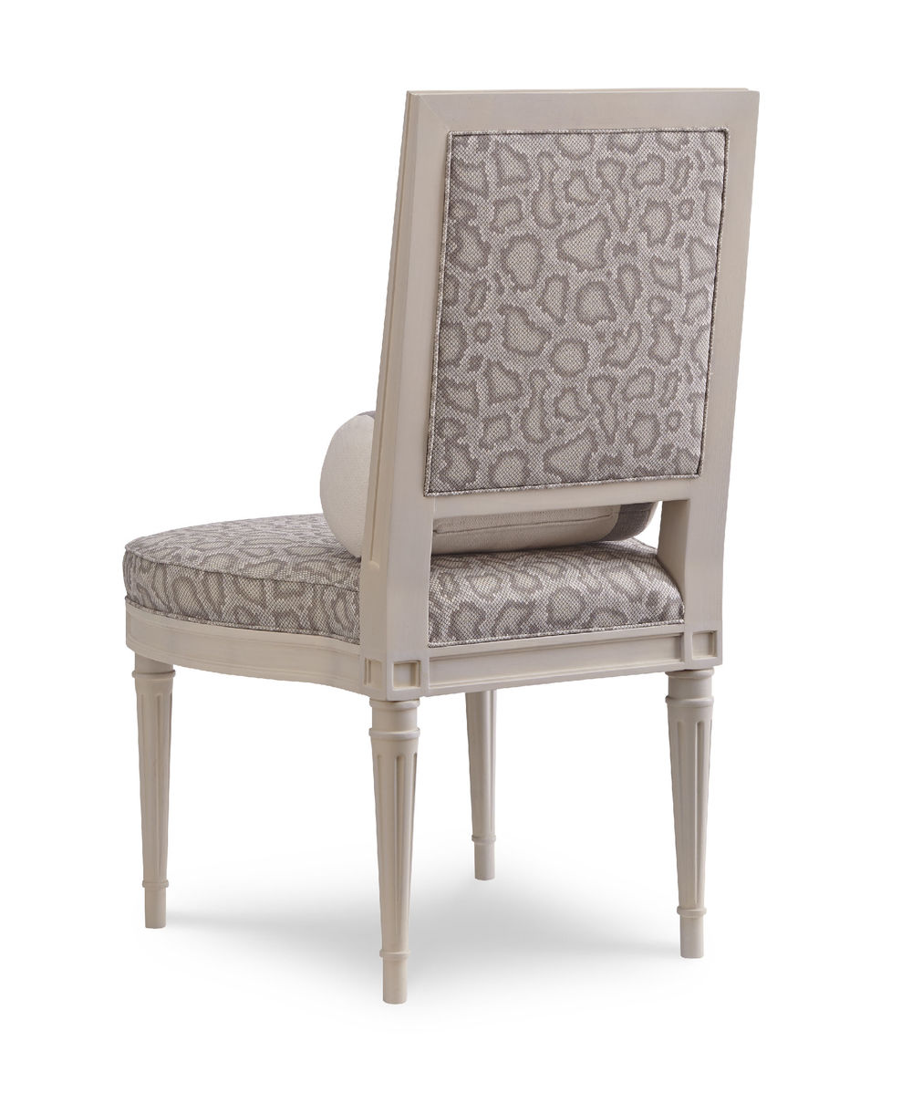 Chaddock - Ophelia Carved Slipper Chair
