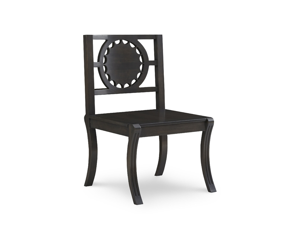 Chaddock - Georgia Star Back Carved Chair
