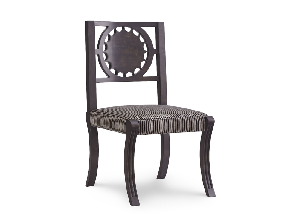 Chaddock - Georgia Star Back Carved Chair