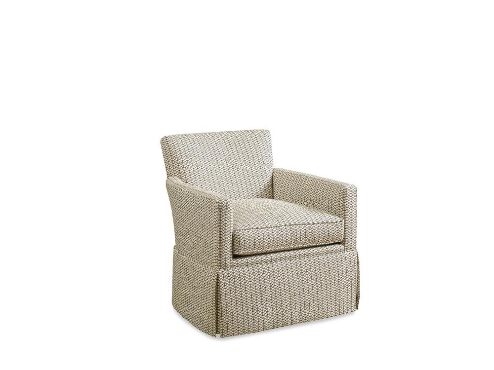 Chaddock - Essence Skirted Swivel Chair