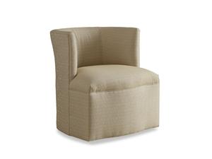 Thumbnail of Chaddock - Petite Barrel Back Tight Base Swivel Chair