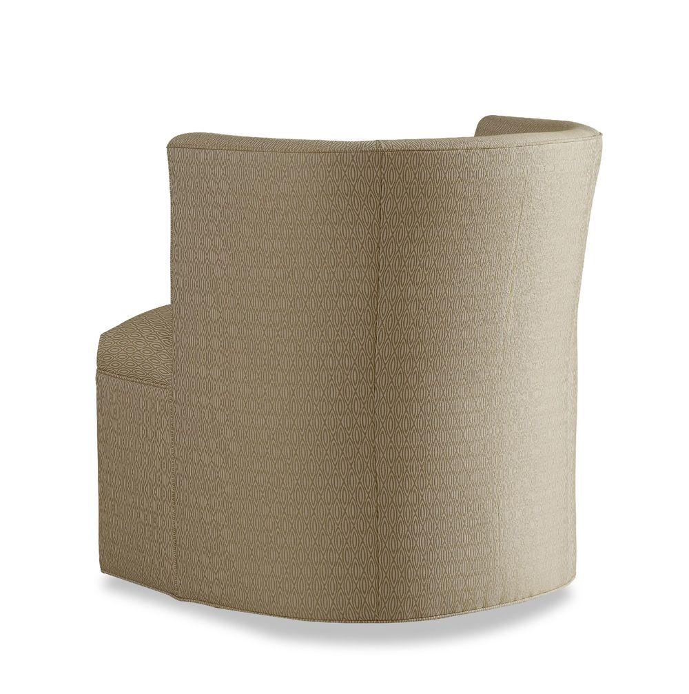 Chaddock - Petite Barrel Back Tight Base Swivel Chair