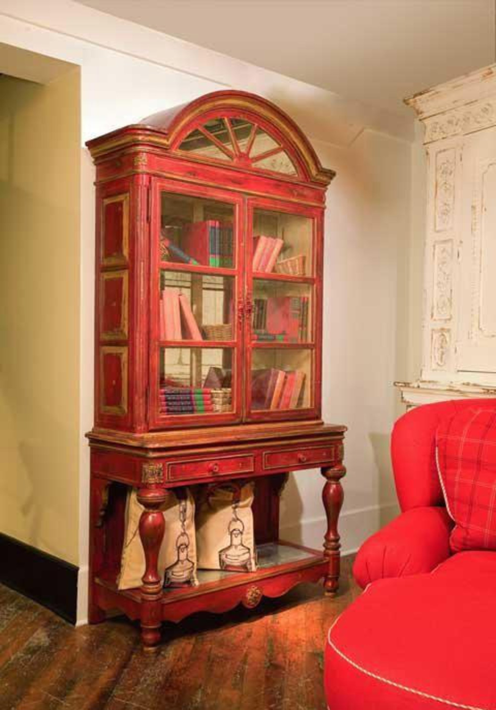 Habersham - Savannah Cabinet on Stand