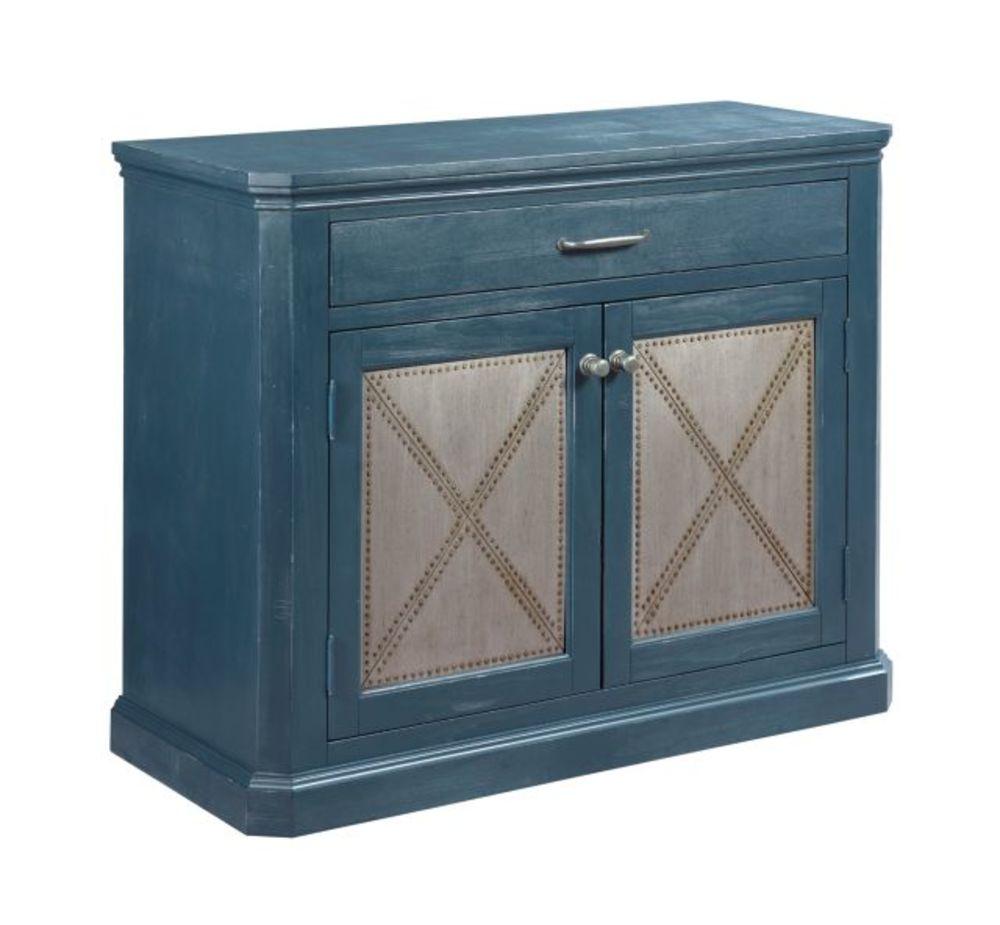 Hammary Furniture - Metal Rivet Door Cabinet