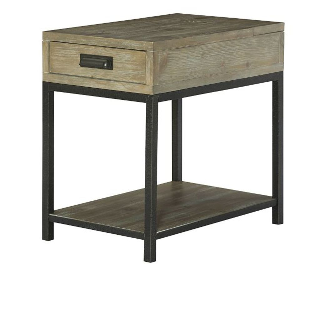 Hammary Furniture - Charging Chairside Table