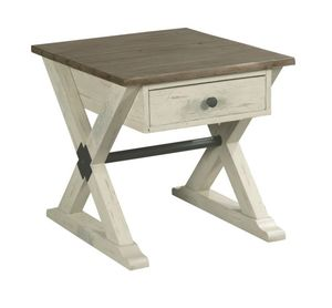 Thumbnail of Hammary Furniture - Trestle Drawer End Table