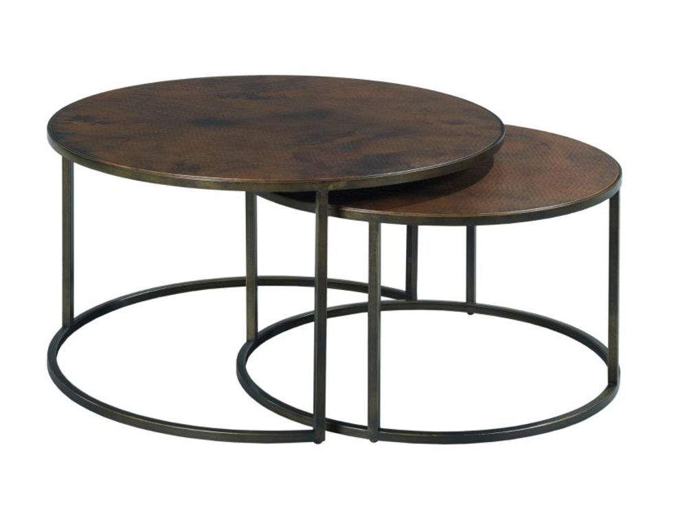 Hammary Furniture - Round Nesting Cocktail Table