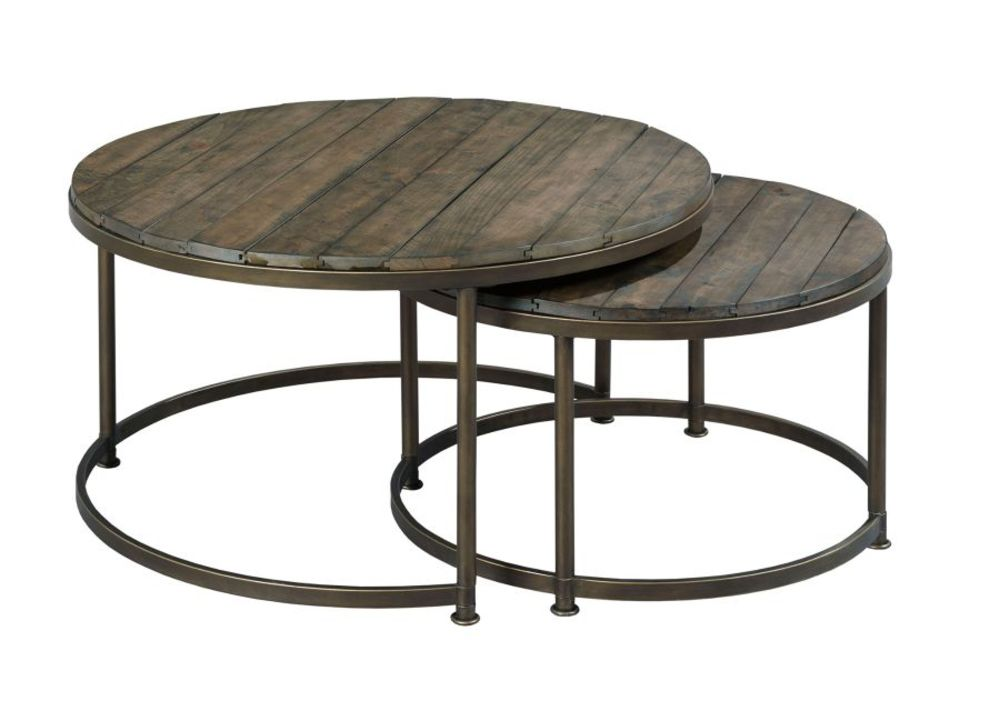 Hammary Furniture - Rounding Nesting Cocktail Table