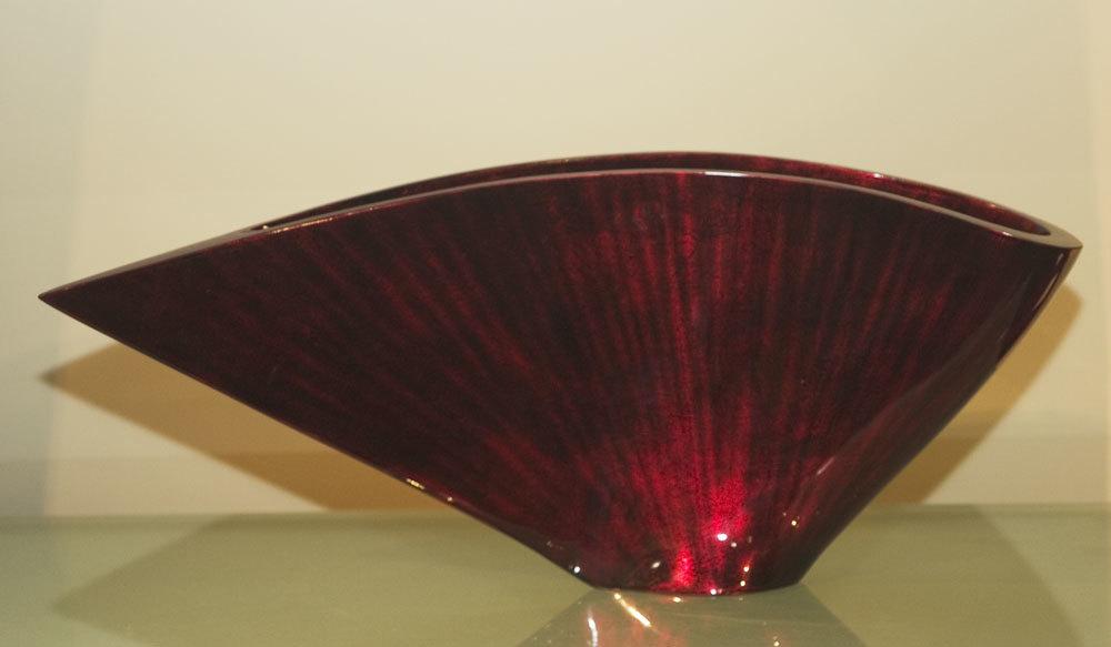 Hebi Arts - Curved Fan Vase
