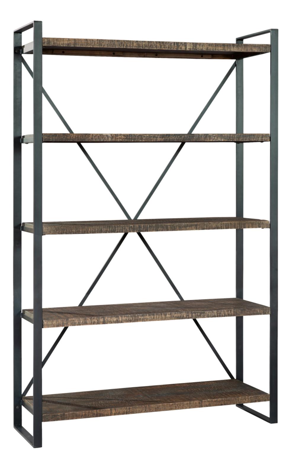Hekman Furniture - Pittsburgh Industrial Open Bookcase