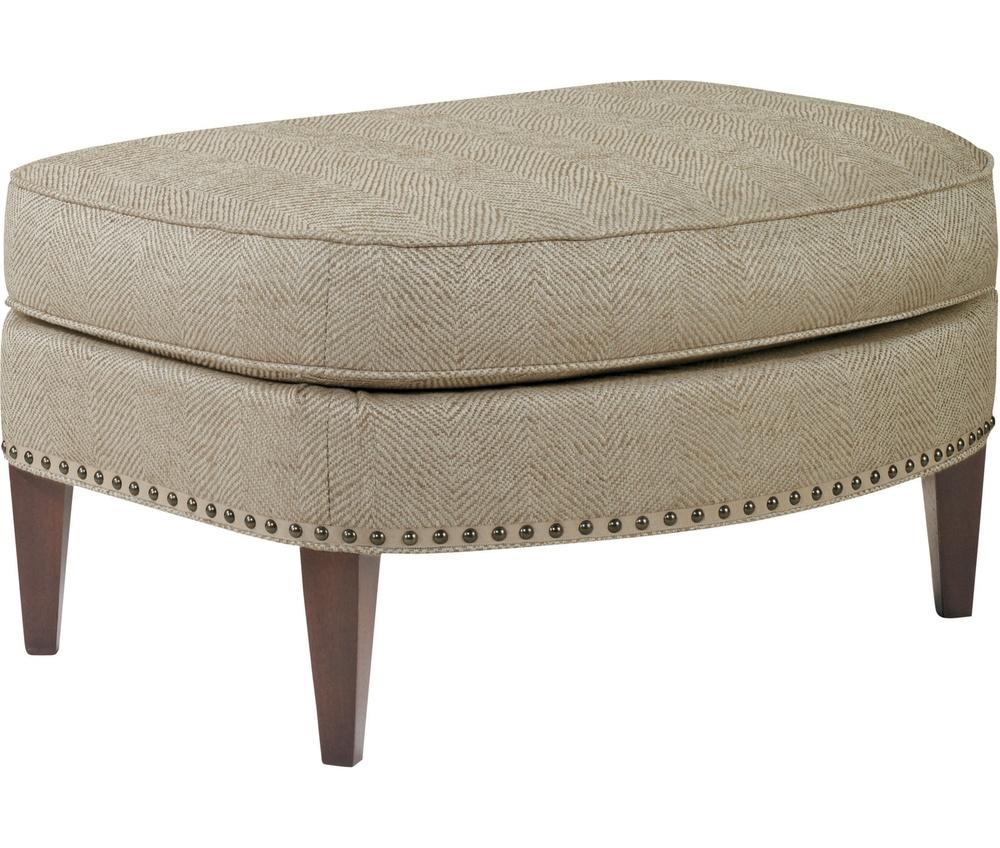 Hickory Chair - Marler Ottoman