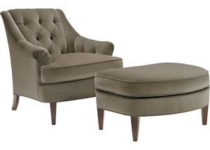 Thumbnail of Hickory Chair - Marler Tufted Chair