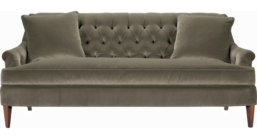 Hickory Chair - Marler Tufted Sofa