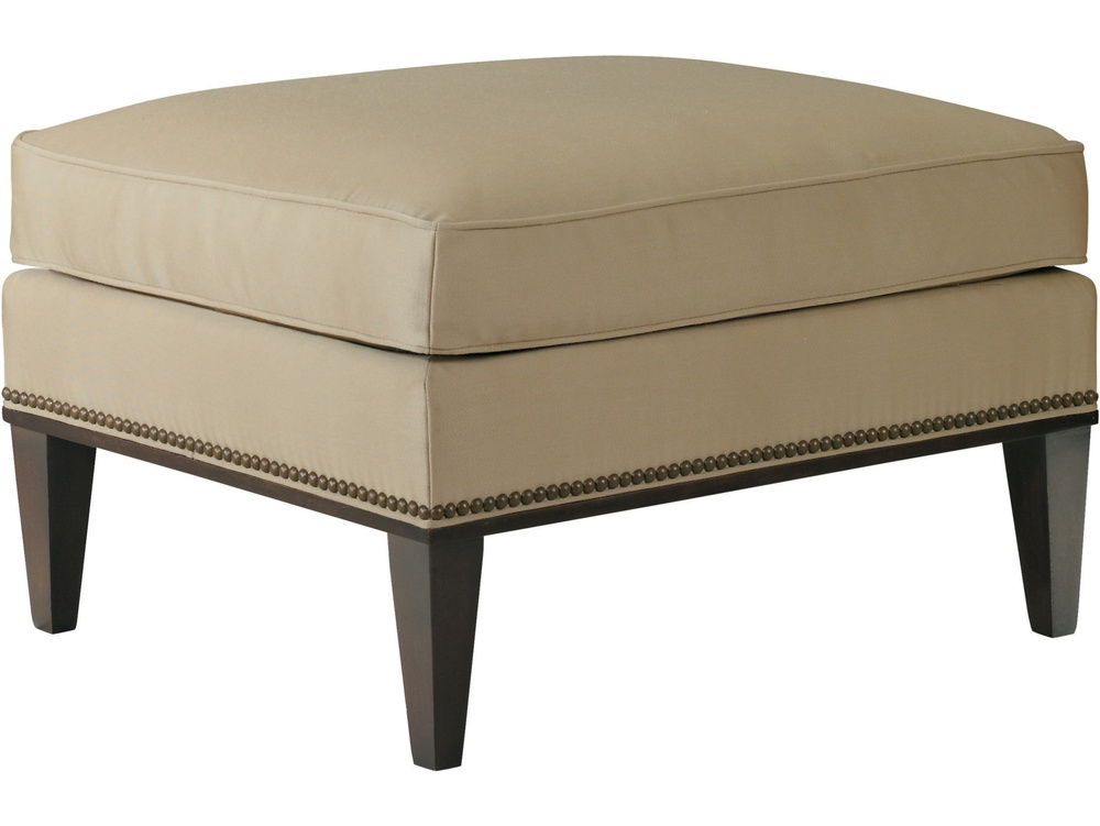 Hickory Chair - Cline Ottoman