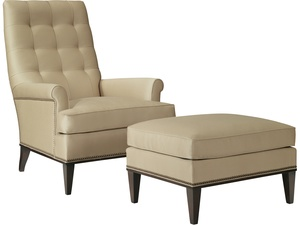 Thumbnail of Hickory Chair - Cline Ottoman