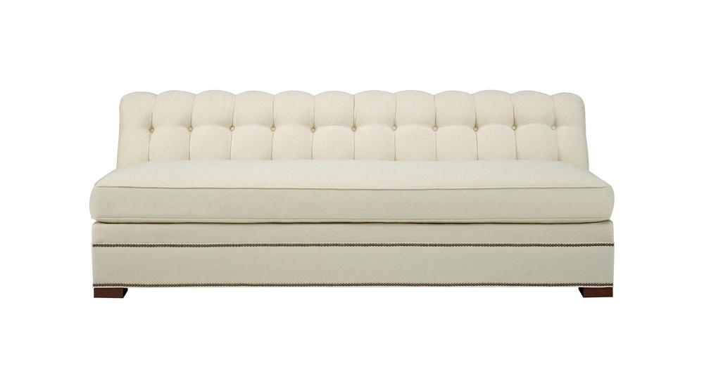 Hickory Chair - Kent Armless Sofa
