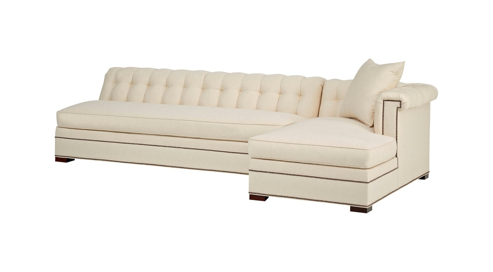 Hickory Chair - Kent Sectional with Chaise