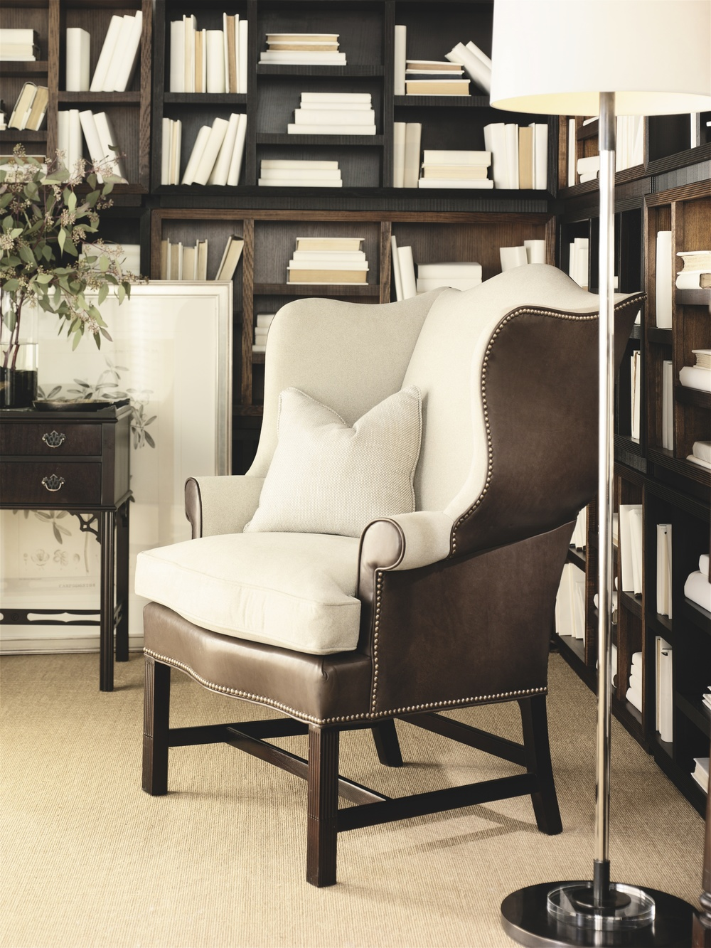 Hickory Chair - Townsend Wing Chair