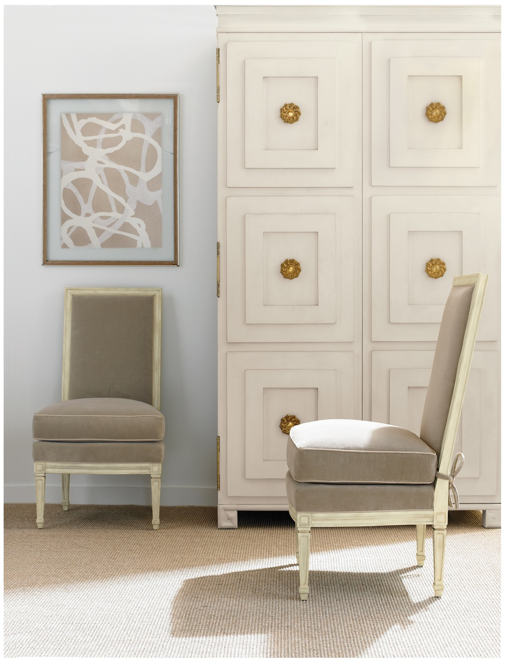Hickory Chair - Delphine Slipper Chair