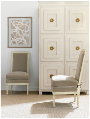 Thumbnail of Hickory Chair - Delphine Slipper Chair