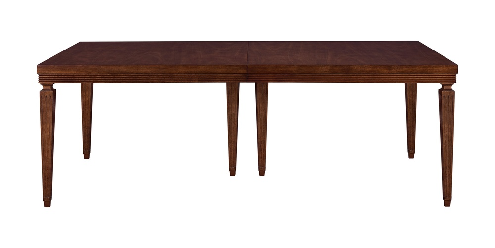 Hickory Chair - Chateau Reeded Apron Dining Table