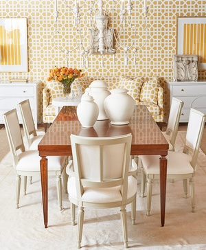 Thumbnail of Hickory Chair - Chateau Reeded Apron Dining Table