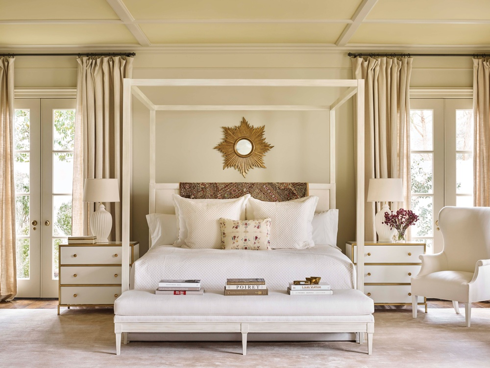 Hickory Chair - Normandy Queen Bed