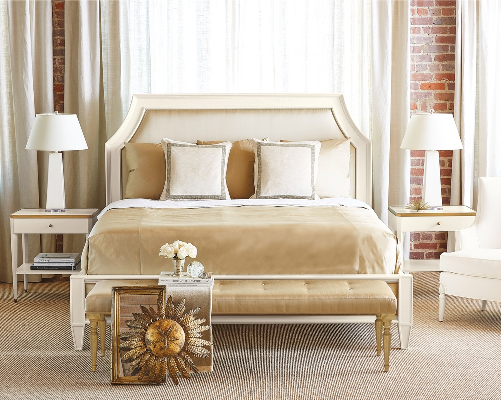 Hickory Chair - Wellesley Upholstered King Bed
