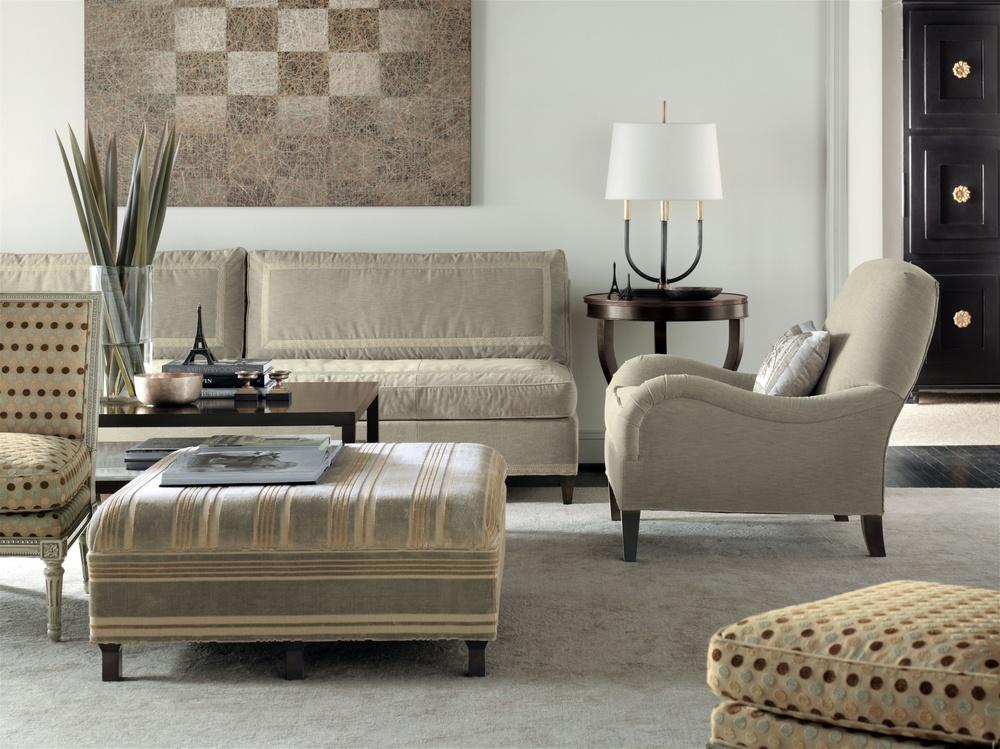 Hickory Chair - Leigh Armless Sofa