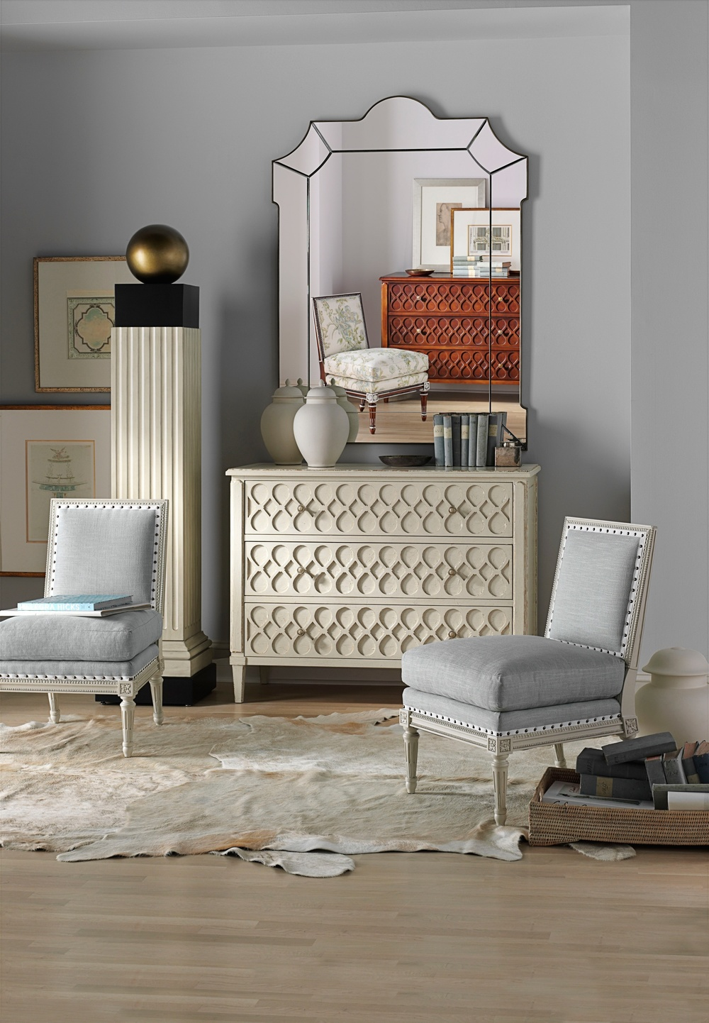Hickory Chair - Ansley Slipper Chair