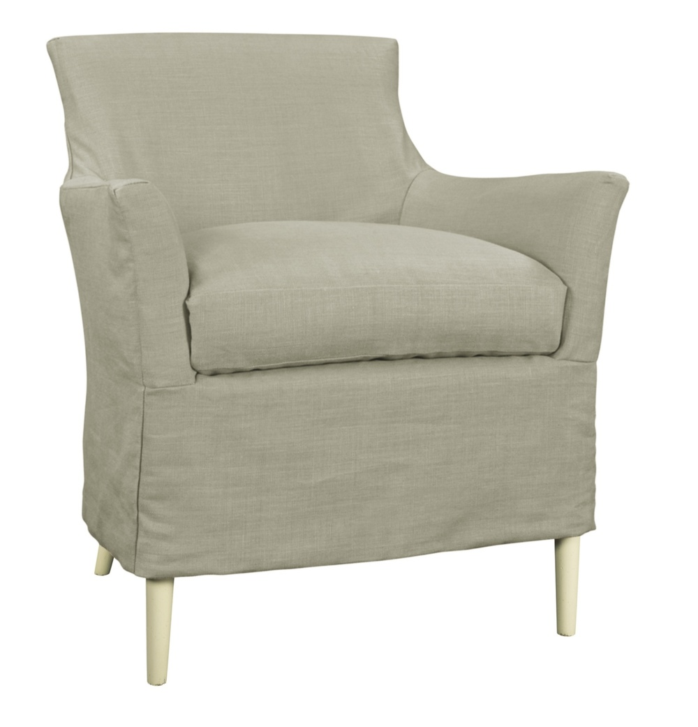 Hickory Chair - Chastain Chair with Slipcover