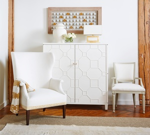 Thumbnail of Hickory Chair - Josephine Wing Chair