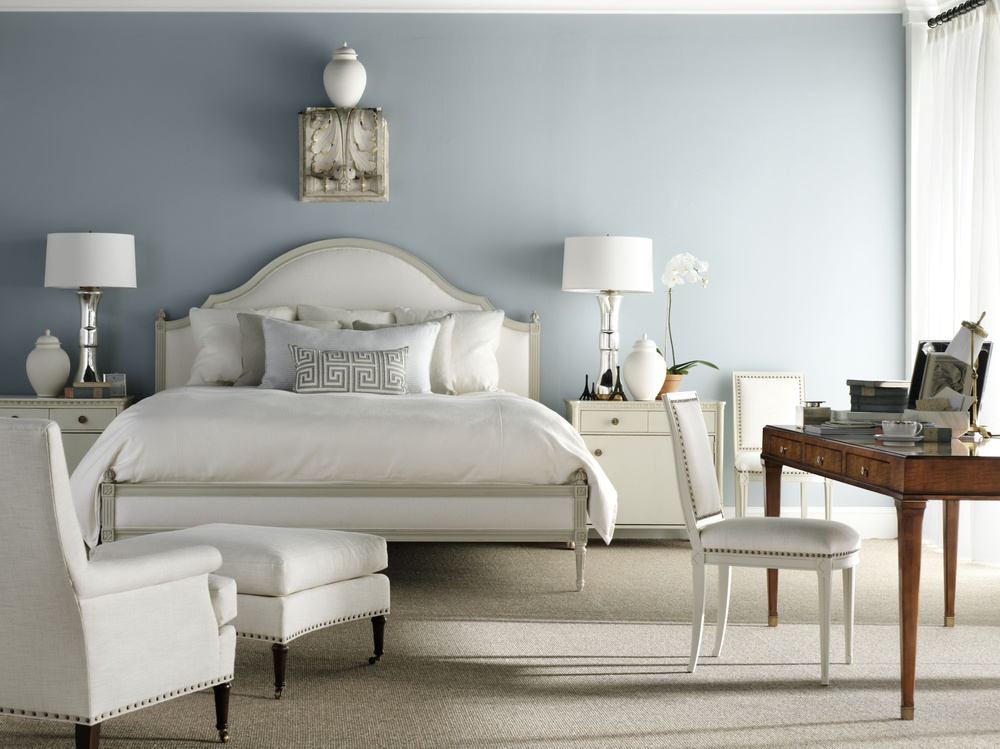Hickory Chair - Simone King Bed