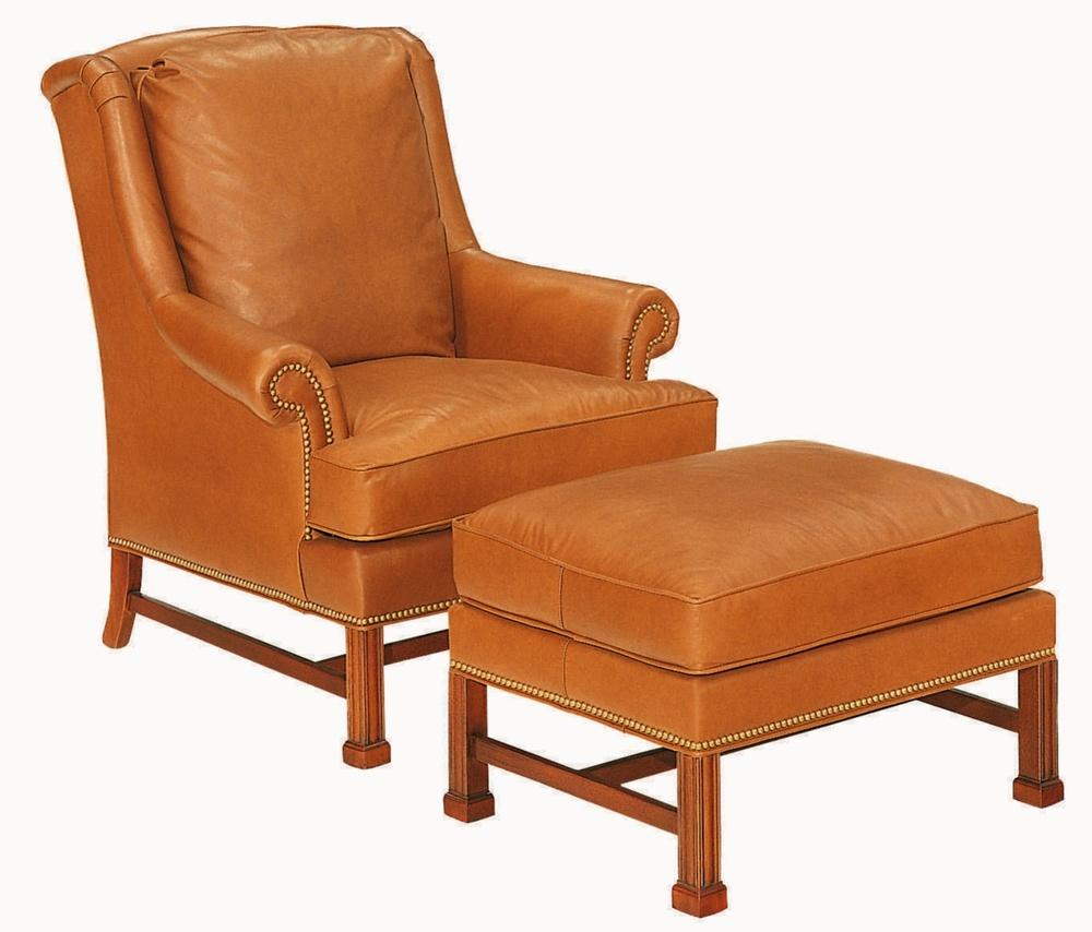 Hickory Chair - Marlborough Leg Lounge Chair
