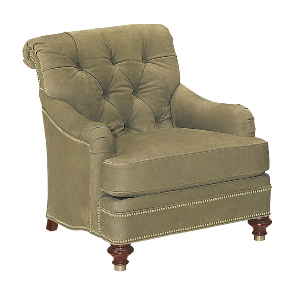 Hickory Chair - St. James Tufted Lounge Chair