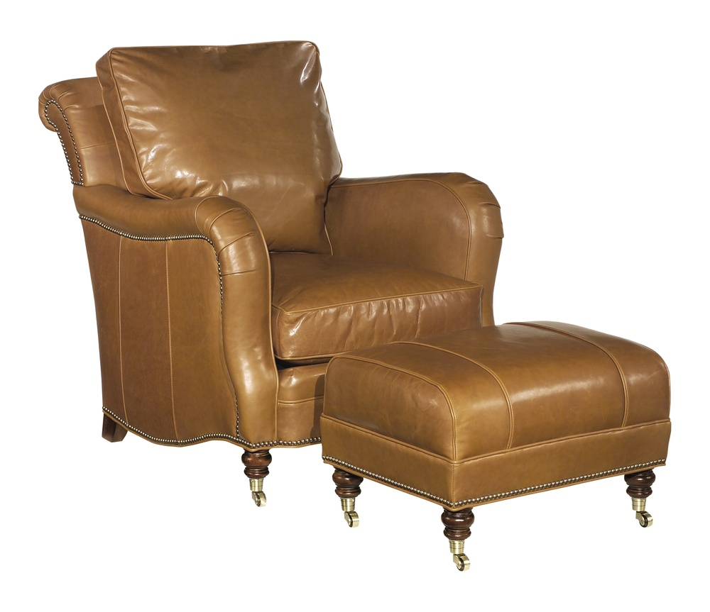 Hickory Chair - Lowell Lounge Chair