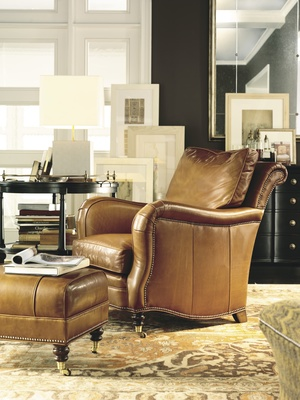 Thumbnail of Hickory Chair - Lowell Lounge Chair
