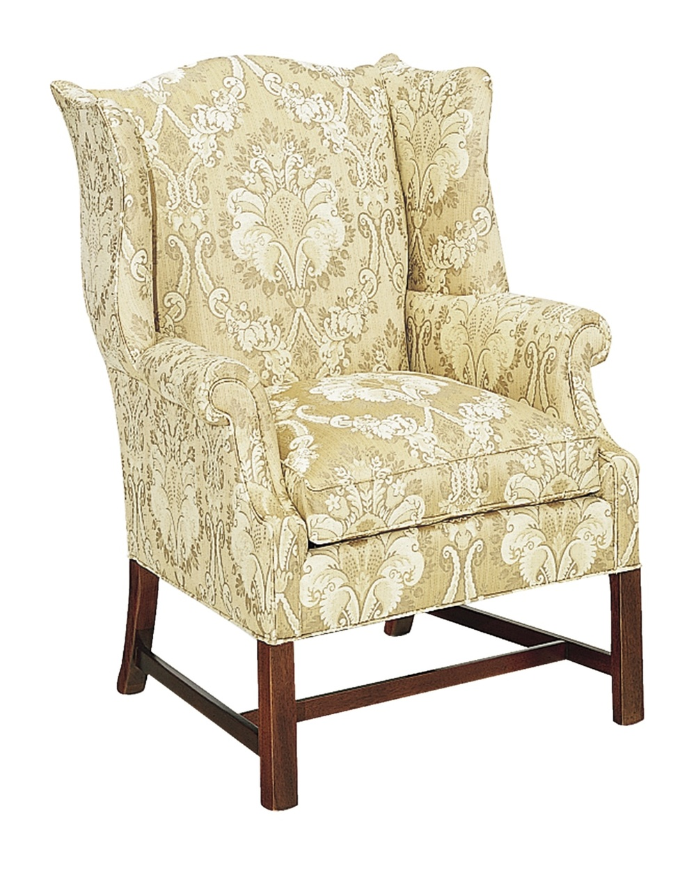 Hickory Chair - Chippendale Wing Chair