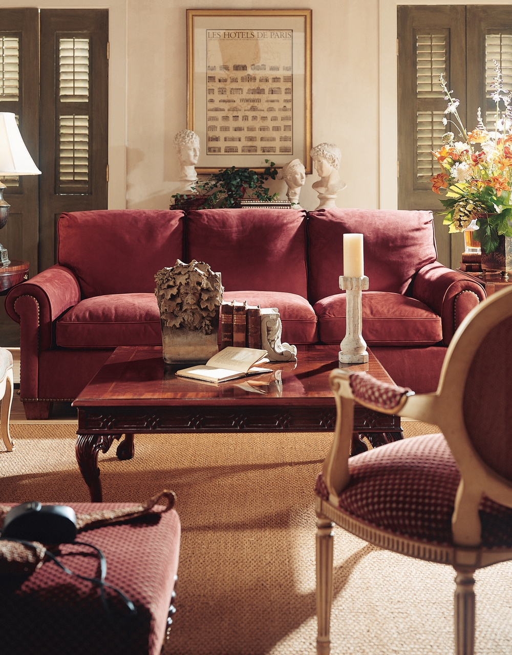 Hickory Chair - Shelby Sofa