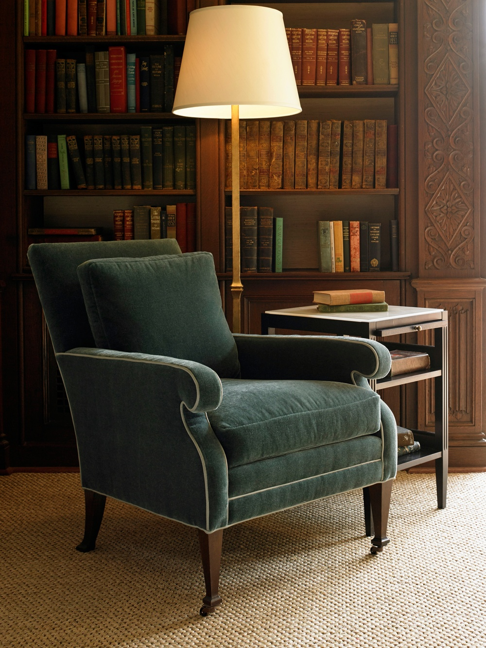 Hickory Chair - Everett Lounge Chair