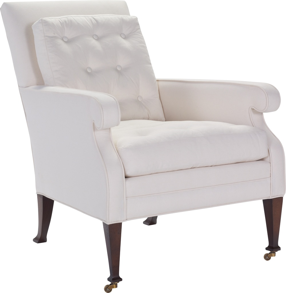 Hickory Chair - Everett Buttoned Lounge Chair
