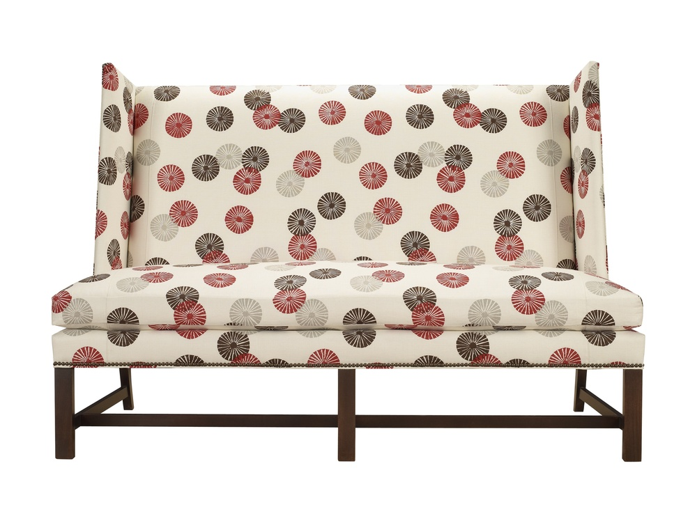 Hickory Chair - Farm Wing Armless Loveseat